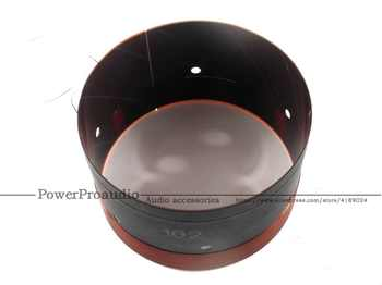2PCS 102MM Bass Voice Coil Woofer With Sound Air Outlet Hole For 12 inch -18 inch Subwoofer Speaker 8OHM 2 Layers
