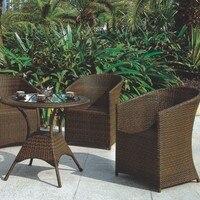 Fashion leisure wicker rattan outdoor furniture 2017 new design