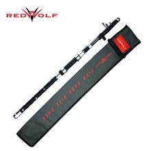Hot Sale! 215cm Telescopic Fishing Rod Carbon Fiber Hi-Tech Spinning Sea Fishing Pole Winter Casting Stick In Fishing