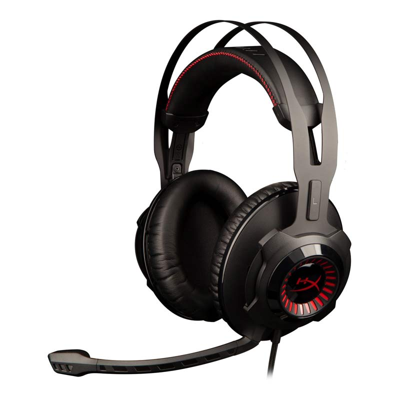 Kingston Hyperx Earphone Ecouteur Revolver S Gaming Headset with Dolby 7 1 Surround Sound 3 5mm