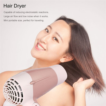 Hairdryer mini portable foldable h
