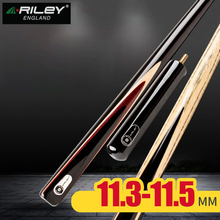 2019 RILEY 3/4 Snooker Cue For Competition One Piece Cue Billiard Cue Kit Stick with Case with Extension 11.5mm Tip Professional original riley slghtrlght rsr 9e snooker cue high end billiard cue kit stick with case with riley extension 9 5mm tip snooker