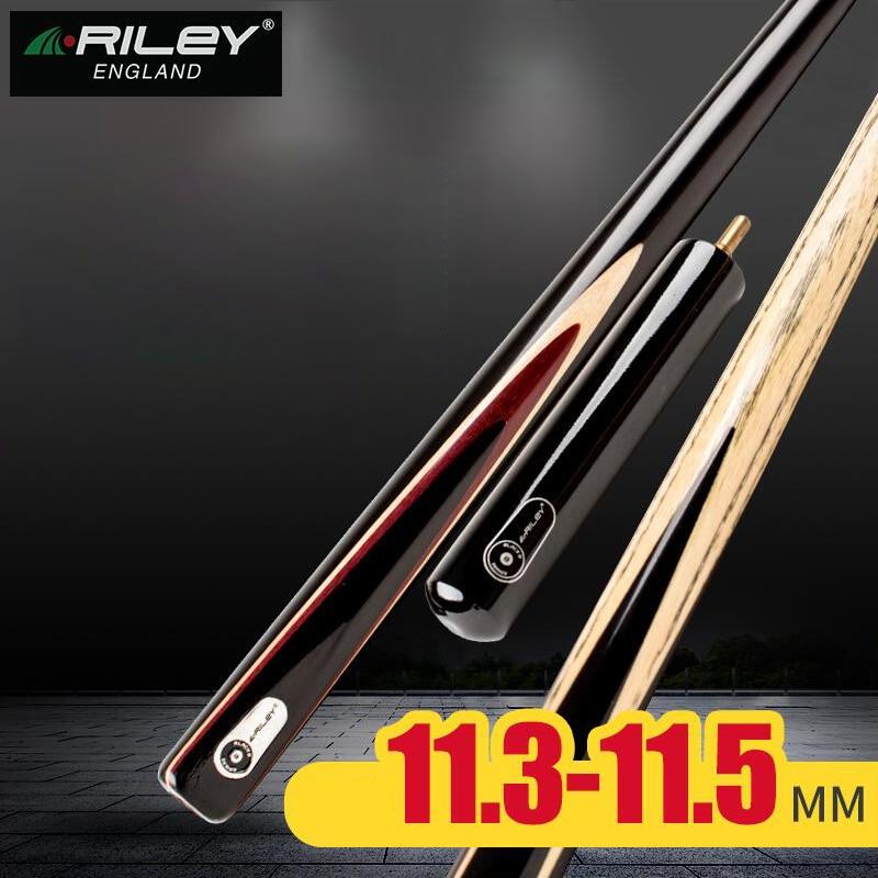 Queue de billard 2019 RILEY 3/4 pour la compétition une pièce queue de billard Kit de queue avec étui avec rallonge 11.5mm pointe professionnelle