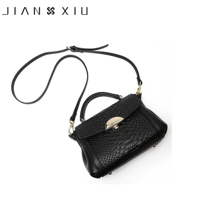 Women Genuine Leather Handbags Famous Brands Handbag Messenger Bags Shoulder Bag Tote Crocodile Sac a Main 2017 New Bolsos Mujer