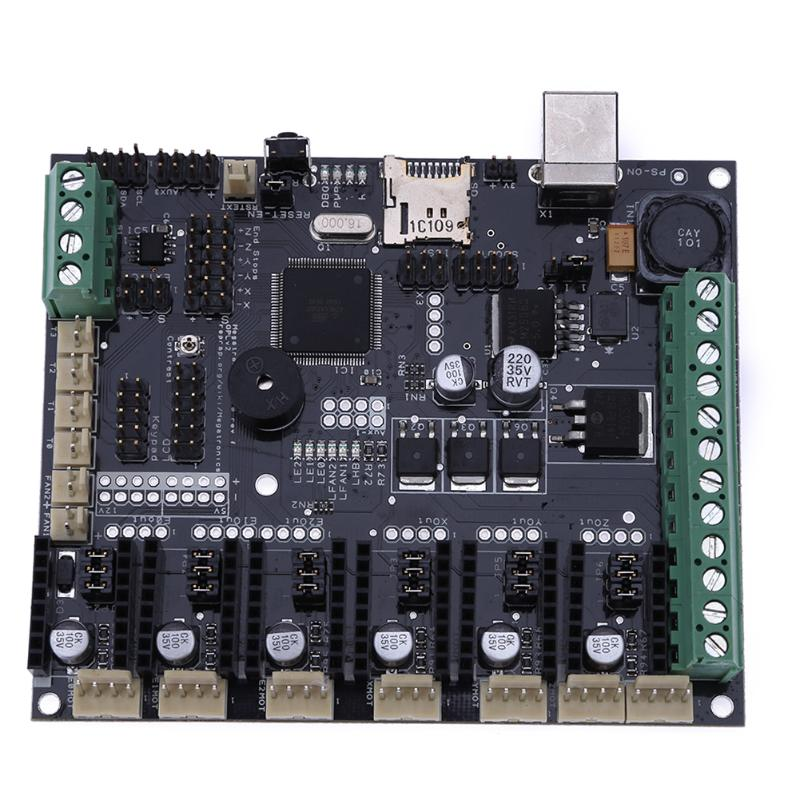 ALLOYSEED 3D Printer Motherboard Megatronics V3 Control Board With Welding AD597 Chip USB 2.0 Full Speed compatible 639521 001 g6 g6 1000 connect with printer motherboard full test lap connect board