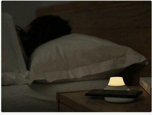 Image 2 - Yeelight 무선 충전기와 LED 야간 조명 자기 매력 아이폰에 대한 빠른 충전 삼성 화웨이 전화