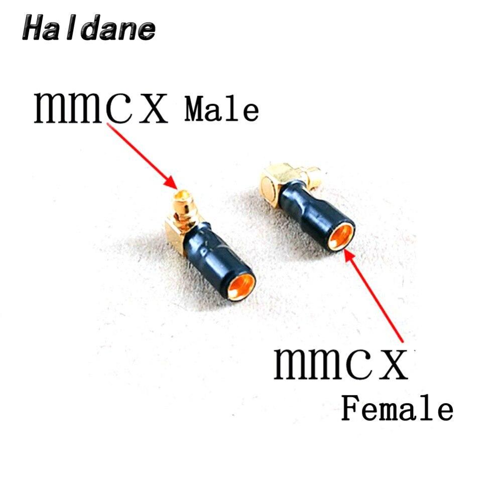 จัดส่งฟรี Haldane คู่ปลั๊กหูฟังสำหรับ F7200 F4100 ER4XR SR MMCX ชาย MMCX หญิงแปลงอะแดปเตอร์-ใน อุปกรณ์เสริมหูฟัง จาก อุปกรณ์อิเล็กทรอนิกส์ บน AliExpress - 11.11_สิบเอ็ด สิบเอ็ดวันคนโสด 1