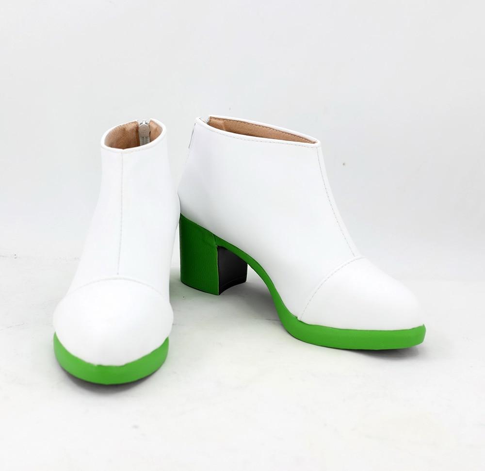 JoJo's Bizarre Adventure Rohan Kishibe High Heel Shoes Boots Cosplay Custom Made