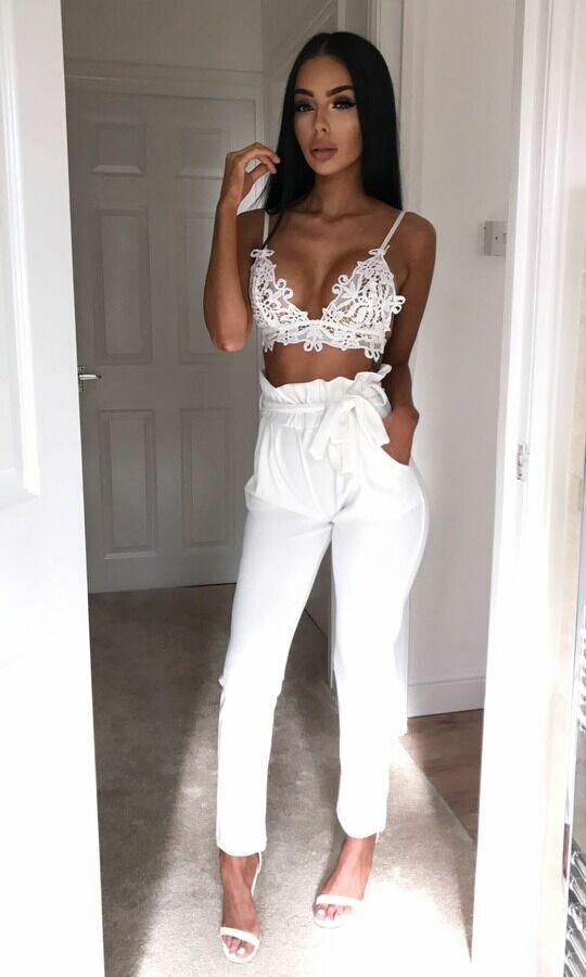 Hot Sale Fashion Women's Solid High Waist Slim Solid Bandage Stretchy Pants Office Lady Summer Casual Straight Thin Pants S-XL 9