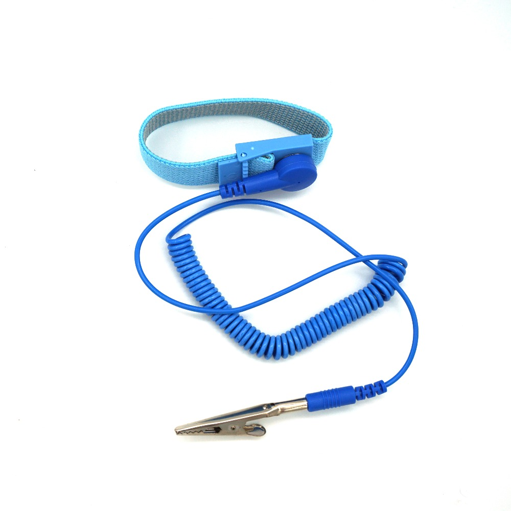 Methodical 1pcs Anti Static Esd Wrist Strap Elastic Band With Clip For Sensitive Electronics Repair Work Tools