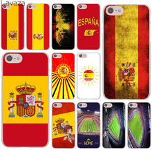Lavaza Spain Spanish flag camp nou Hard Cover Case for Apple iPhone 8 7 6 6S Plus 5 5S SE 5C 4 4S X 10 Coque Shell