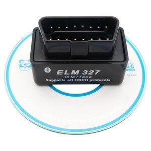 Image 3 - ミニELM327 OBD2 ii車のbluetoothスキャナー車診断ツールのandroidトルク自動dtcスキャンツール