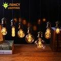 Lâmpada conduzida e27 luz decorativa da lâmpada 220 v levou edison lâmpada st64 g95 fogos de artifício da lâmpada luzes do feriado decorações de natal para casa