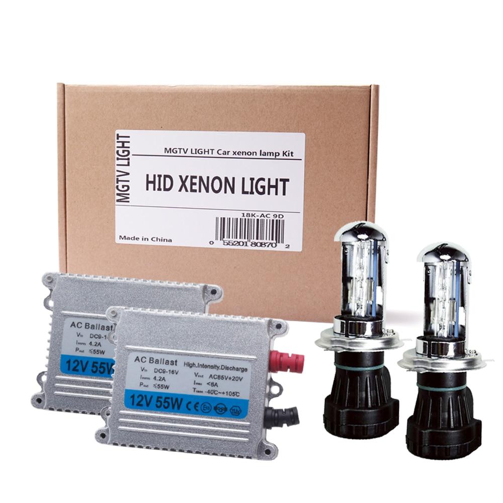 H13 Pink 35W Xenon HID Bulbs Hi//Lo Head Light B - Replacement Pair 9008