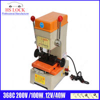 368C clé machine de découpe 220 v 100 w DC et AC de voiture clé duplication machine Auto serrurier outils