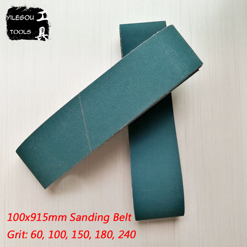 5 Pieces 100*915mm Sanding Belt For Metal 4