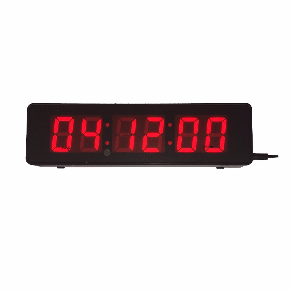 Large Led Countdown Clock Indoor Digital Clock For Room