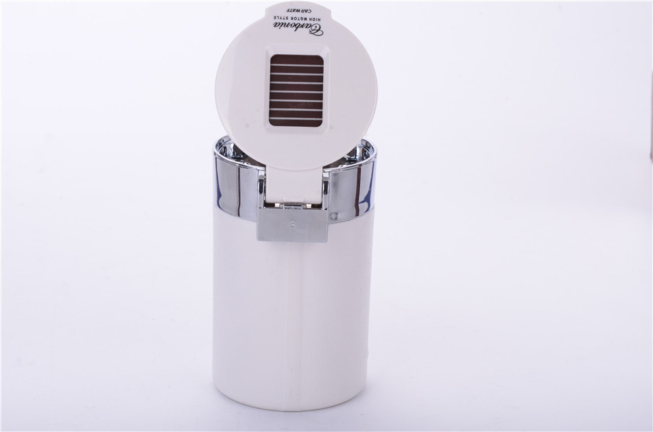 lowest price CHIZIYO Portable LED Light Ashtray Universal Cigarette Cylinder Holder Carbon Fiber Car Ashtray