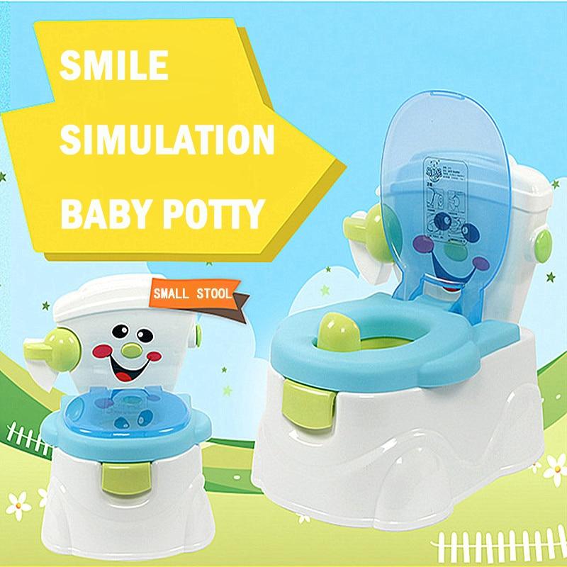 Baby Potty Portable Baby Toilet Cartoon Cars Potty Child Pot Training Girls Boy Potty Kids Chair Toilet Seat Children's Pot WC