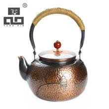 TANGPIN japanese copper teapot kettles handmade tea pot set coffee pot japanese tea set drinkware