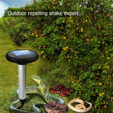 Ultrasonic Snake Repeller Ultrasonic Rat Repeller Eco Friendly 400-1000(HZ) 1.2V 800MAH Rodent Control Solar Energy Animal bradex solar ultrasonic