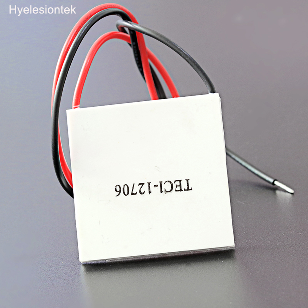TEC1-12706 40x40mm Thermoelectric Cooler Peltier PLATE Module 12V 60W