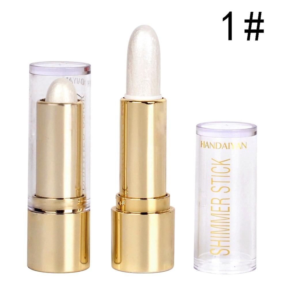 handaiyan bronzer highlighter cosmeticos rosto ilumine contorno adesivos a prova d agua de longa duracao 120