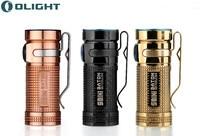 Olight Mini Led Flashlight SMINI CU Raw Copper 550 Lumens Cree XM L2 LED Torches Limited