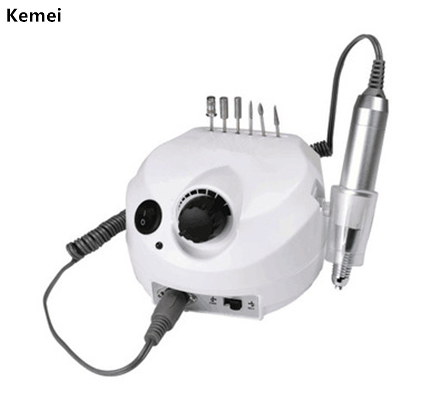 Electric Nail Drill Machine Polisher Manicure Pedicure Pen Kit File Bits 30000 RPM Pro Professional Salon Nail Art Tools electric nail drill machine 60w file pedicure grooming kit bits pro salon machine fast machine manicure pedicure kit gold