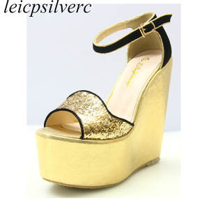 6ae3c320f754 top 10 most popular black and gold platform shoes list
