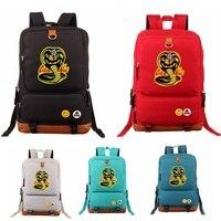 American TV Cobra Kai Nylon Student Shoulder Backpack Travel Bag Computer Bag School bag