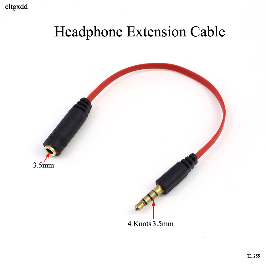 Headphone Extension Cable 3.5mm Jack Male to Female Aux Cable 3.5 mm Audio Extender Cord For Computer iPhone Player adapter