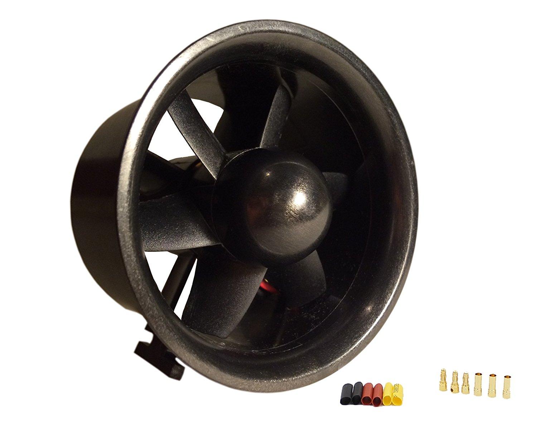 цена на QX-Motor 70mm EDF Ducted Fan Set 6 Blades Electric EDF w 3-4s 2300KV/3800KV/3500KV Brushless Outrunner Motor for RC Jet AirPlane