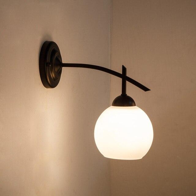 Wpkixouzt Loft Vintage Chambre Tuyau Chevet Lampe Escalier Fer Mur De Y6ybgvf7