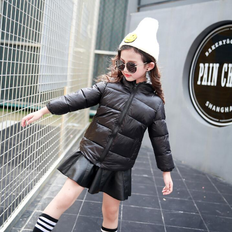 New Warm Boys Girls Thin Down Cotton Coat Baby Kids Winter Spring Autumn Down Jacket Children Fashion Hooded Outwear Clothes 2016 winter dinosaur monster jacket fashion girls boys cotton hooded coat children s jacket warm outwear kids casual wear 16a12
