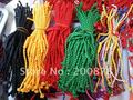 BB-094 Tibetan handmade colorful Kingkong knots bracelet 100pcs lot Fork Lovelace lucky knots Wholesale Friendship bracelets
