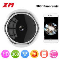 Xm 360 grad panorama fish eye 1080 p ip-kamera mehrzweck Wifi Nacht Veresion kamera APP Fernbedienung Wireless P2P IP Web