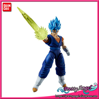 Genuine BANDAI Figure rise Standard Assembly Dragon Ball Super Super Saiyan God SS Vegito Vegetto Plastic Model Action Figure