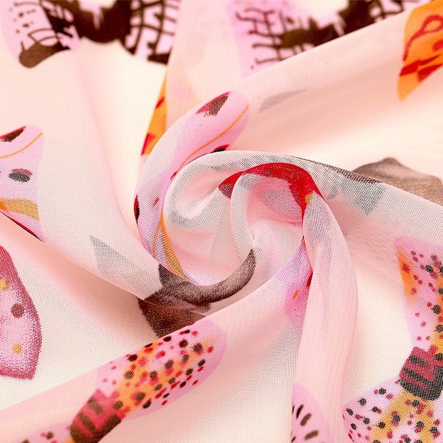 Color Bow Tie Chiffon Scarf   Lightweight Scarves   Up to 60% Off Now