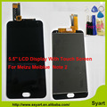1920x1080 FHD 5.5 inch 100% New Repair LCD meiblue note 2 assembly LCD Display Touch Screen Digitizer for Meizu Meiblue  M2 NOTE