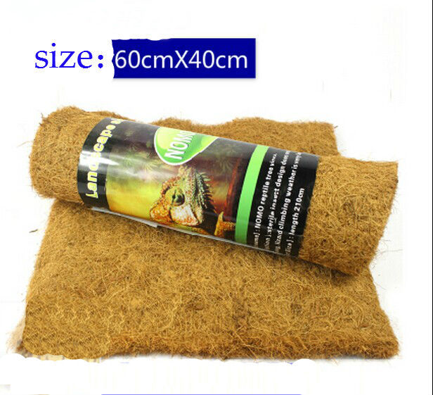 large size 60cm*40cm coir substrate Mat of pet reptiles