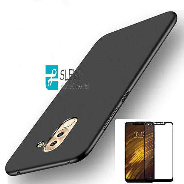 low priced 2539d 81615 US $3.11 25% OFF|Pocophone F1Full Protection Cover Case Xiaomi Pocophone F1  Case With Full Tempered Glass Xiaomi Pocophone F1 F 1 Global Version -in ...