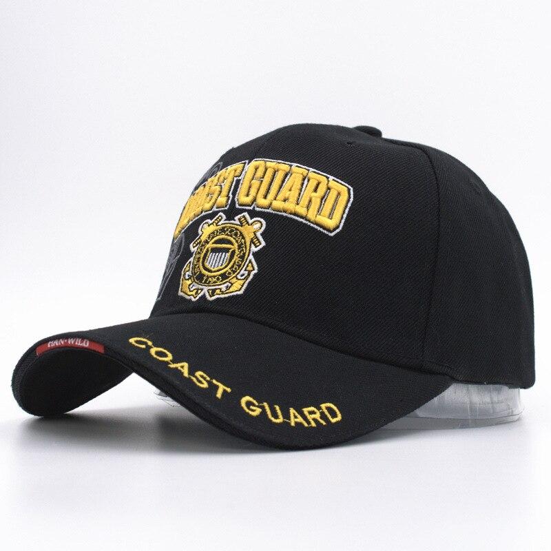 Prix pour Casual usa côte garde armée baseball cap os nous marine chapeau snapback caps hommes femmes balck tactique cap casquette