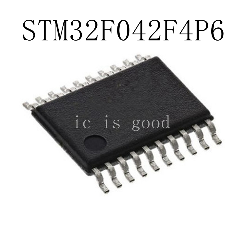 10PCS LOT 100 New and original STM32F042F4P6 TSSOP20 in stock