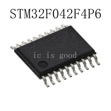 10PCS/LOT 100%New and original STM32F042F4P6 TSSOP20 in stock
