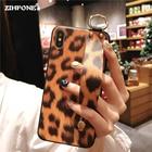 ①  Мода леопардовым принтом чехол для телефона Samsung Galaxy S9 S8 плюс чехол Samsung Note 9 8 силикон ★