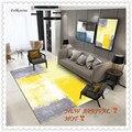 Kostenloser Versand Gelb Grau Farbe Mischen Teppich Startseite Bereich Boden Teppiche Matte Tapeti Casa Moderne Wohnzimmer Tapete Para Sala alfombra-in Teppich aus Heim und Garten bei
