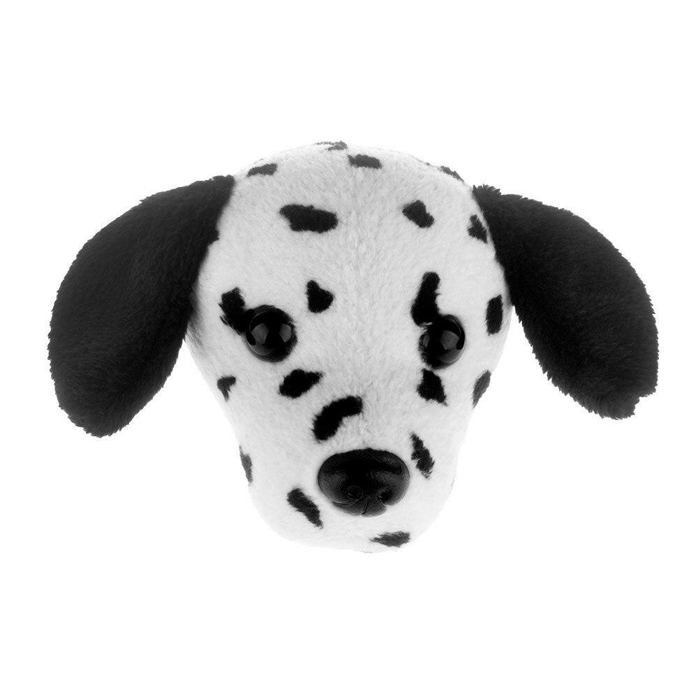 Plush Toy Refrigerator Sticker Fridge Magnet Dogs Head Stuffed Poodle Bull Terrier Dalmatian Chihuahua Sharpei Boston Home Decor in Stuffed Plush Animals from Toys Hobbies