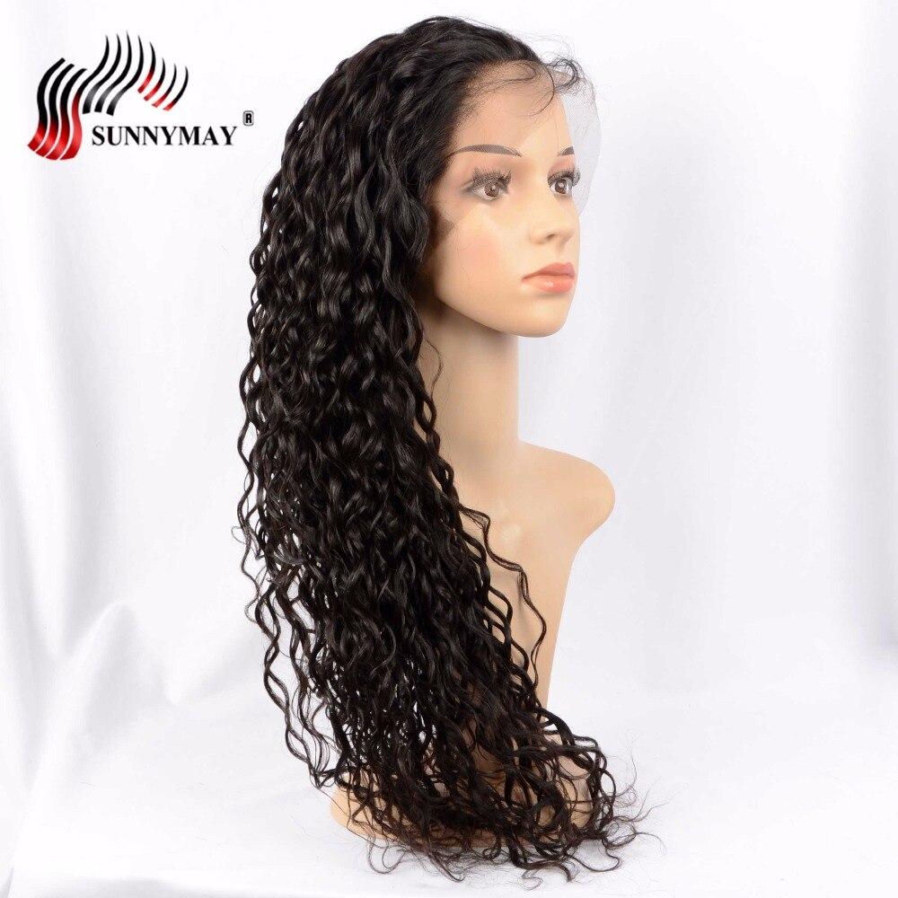 Sunnymay Exotic Wave Full Lace Mänskliga Hårparykar Natural Color - Mänskligt hår (svart) - Foto 2
