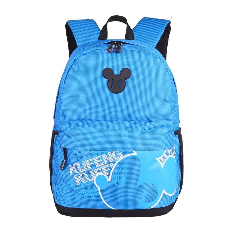 New kids Mickey Minnie Mouse Backpack Children School Bag New Toddler Cartoon Backpacks Bag Mochila For Girl Gift BB0037 2016 new fashion novelty despicable me kids cartoon backpacks children minion school bag boy girl mochilas